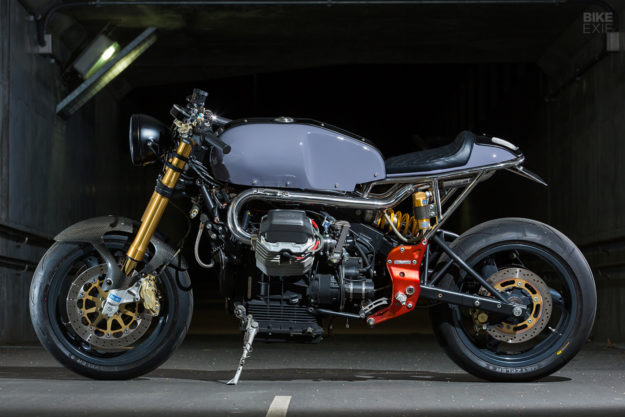 One of One: A very limited edition Guzzi V11 from Japan, by Katsu Motorworks
