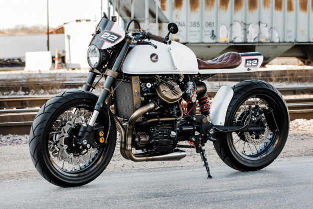Honda CX500 cafe racer by Redwood Cycles