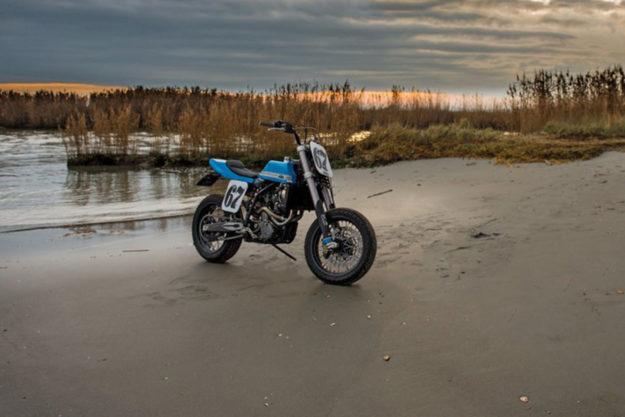KTM 640 LC4 tracker by Just Bike