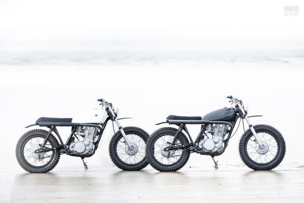 Two new Yamaha SR500 scrambler customs from Auto Fabrica