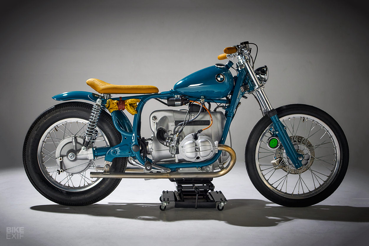Out Of The Blue: This BMW R60/7 from Spain bucks the me-too trend