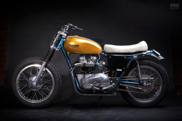 Don't Call it a Bitsa: Hello Engine's Triumph T140 750 TT Racer