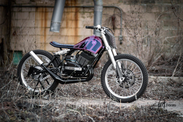 Yamaha RD350 custom by Jake Drummond