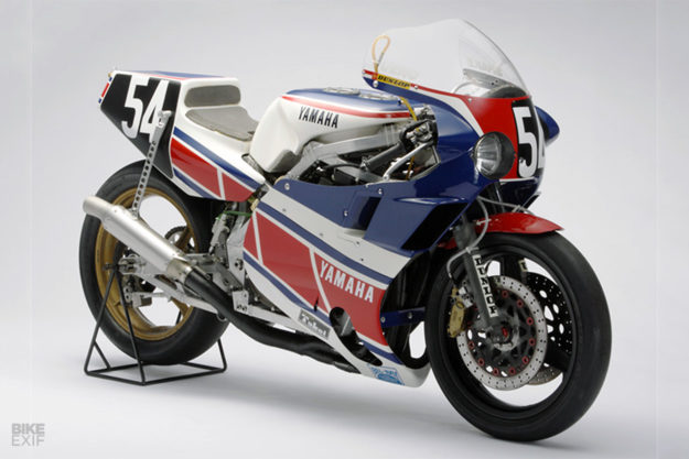 The 1984 Yamaha XJ750R (0U28) race bike