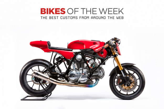 The best cafe racers, scramblers and trackers of the week
