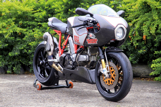 Ducati MH900E tribute to Pepo Rosell by Igor Ou