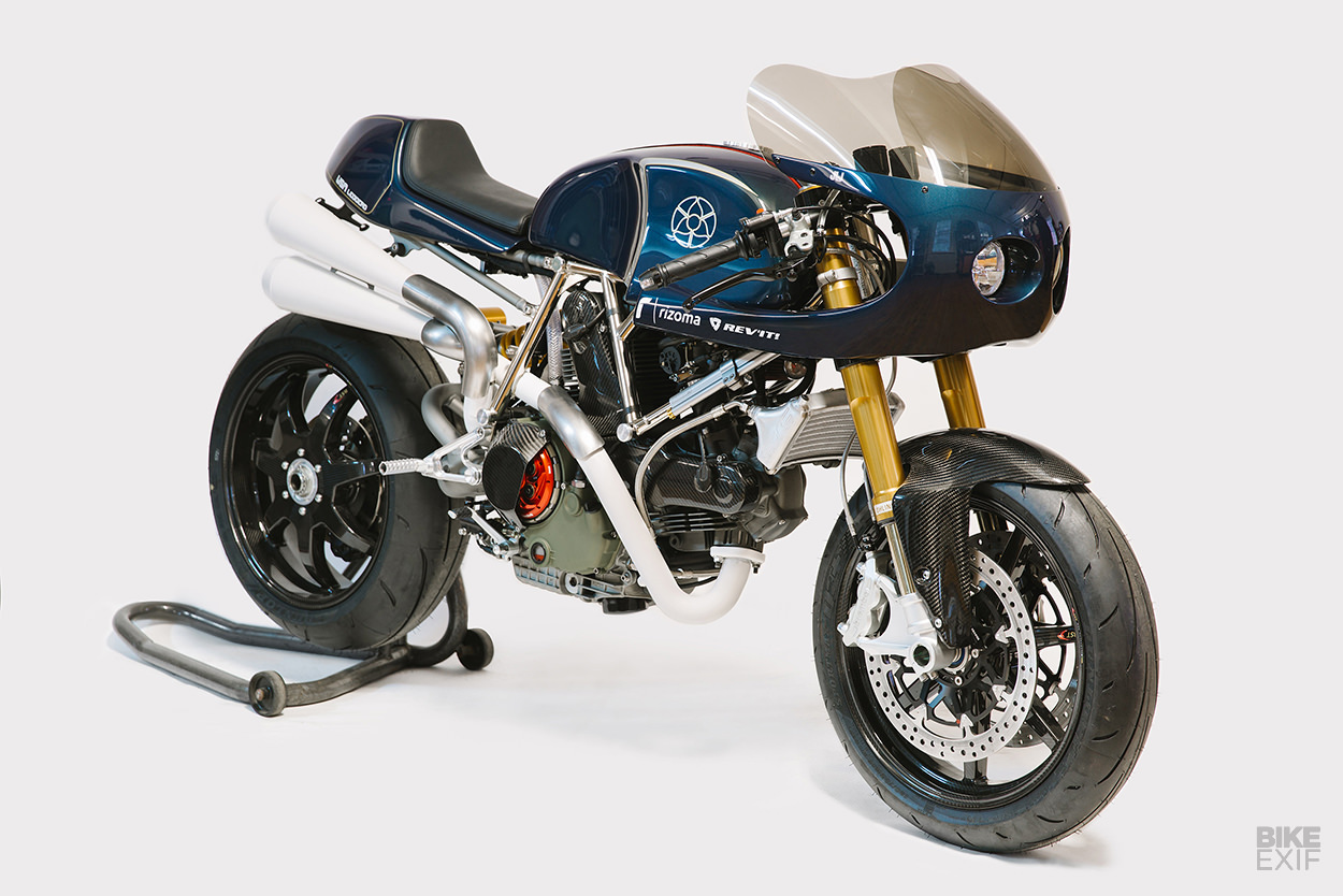 A Walt Siegl Ducati Monster with a discreet muscle car vibe