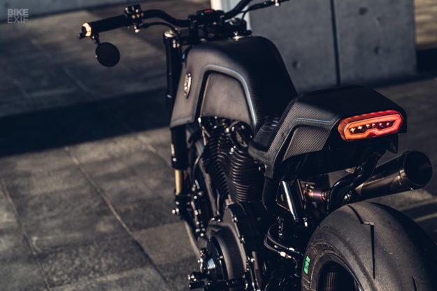 Raging Dagger: A hot-rodded Harley Forty-Eight from Rough Crafts