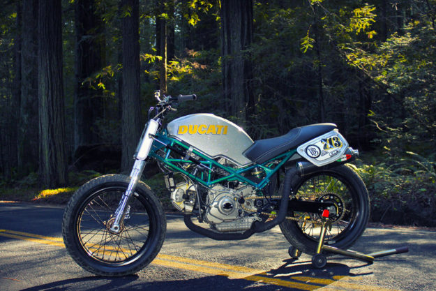 Ducati Monster tracker by Behind Bars Customs