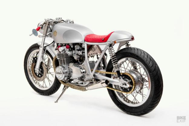 Honda CB500 cafe racer by Rod Motorcycles of the Czech Republic
