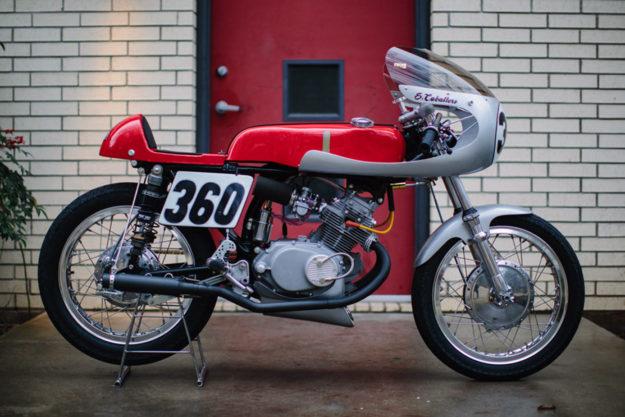Steve Caballero's Honda CL175 racer