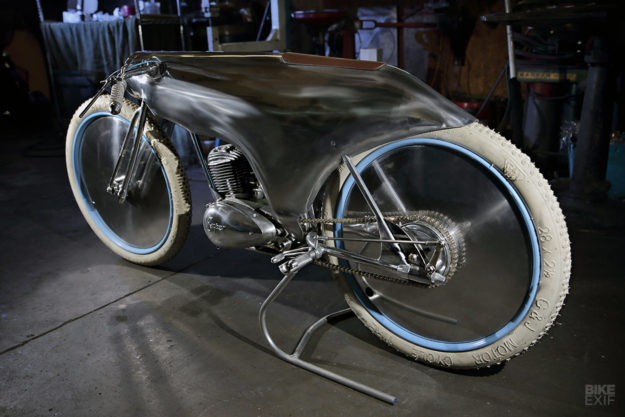 Motorcycle Art: A BSA Bantam built by Craig Rodsmith for the Haas Moto Museum