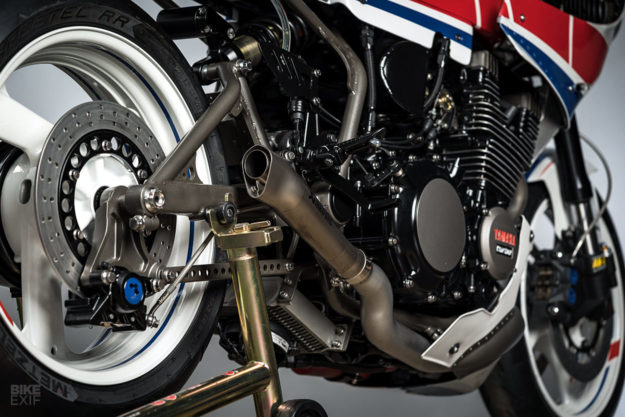 Turbo Maximus: A turbocharged Yamaha XJ750 Maxim restomod