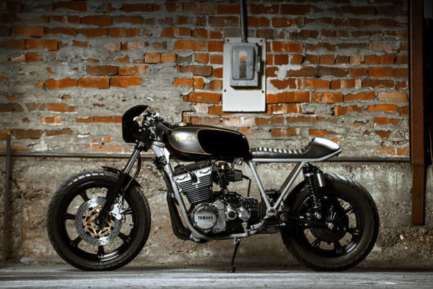 Custom Yamaha XS850 by Brick House Builds