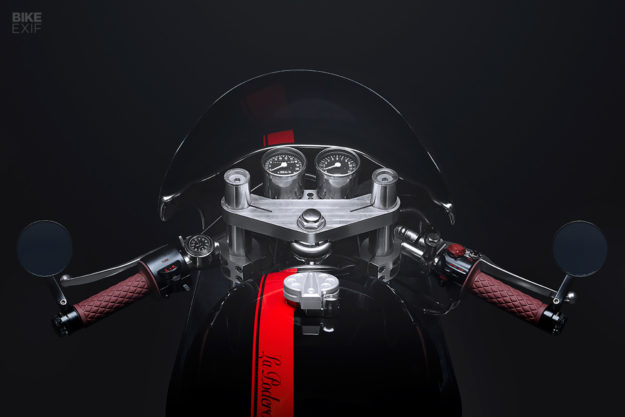A born again 1974 Honda CB750K cafe racer from Augment Collective of Toronto