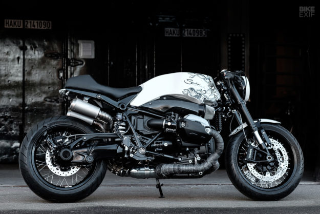 Ghost Dog: A BMW R nineT with Samurai style from Smokin Motorcycles