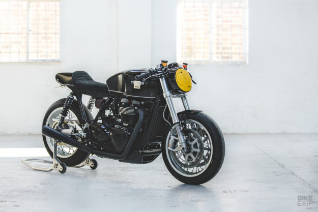 Triumph Cafe Racer >> The Right Stuff A Triumph Thruxton R From Debolex Bike Exif