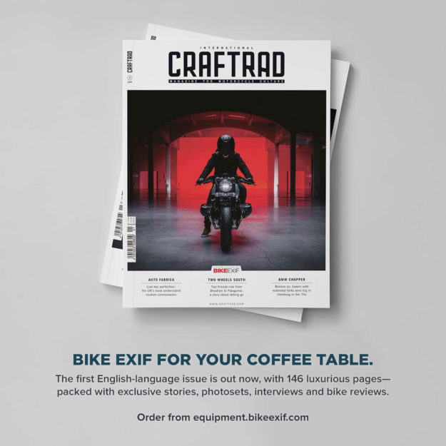 New motorcycle magazine: Issue #1 of Craftrad x Bike EXIF is here.