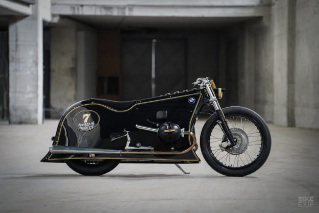 The Black Phantom: Kingston Custom takes a leap into the dark with a classic BMW motorcycle