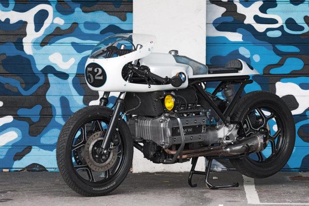 Custom BMW K100 by Les Ateliers du Dr Joë