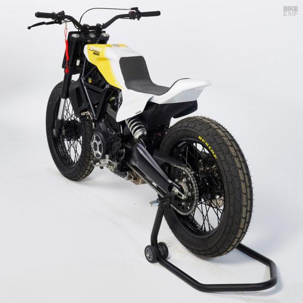 Bad Winners Ducati Scrambler 800 flat tracker