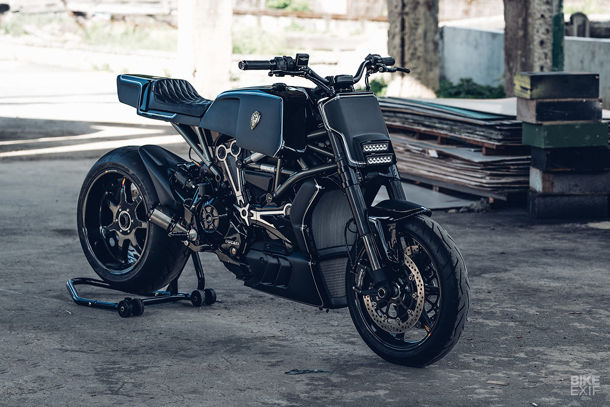 Rough Crafts transforms the Ducati XDiavel S