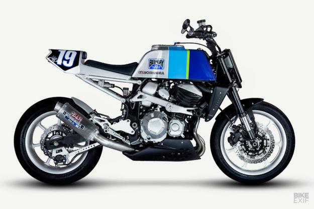 Rocket ship: An 80s-style Kawasaki Z800 from Smoked Garage