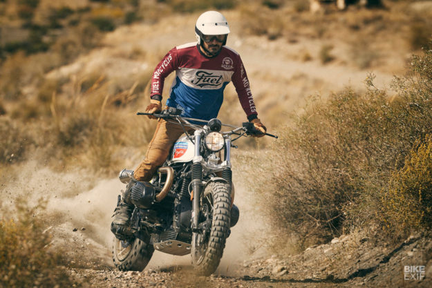 The Spanish workshop Fuel turns the BMW R nineT into a desert sled