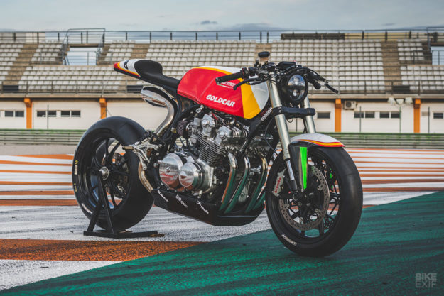 Track Prepped: A Honda CB750F from one of Spain's top auto racing teams
