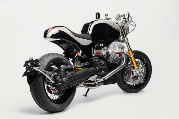 Moto Guzzi Bellagio cafe racer by South Garage