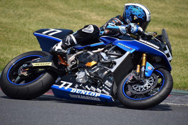 Suzuki Katana race bike by Team Kagayama