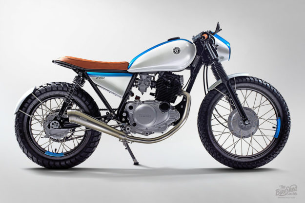 Custom Yamaha SR250 by Free Spirit Motorcycles