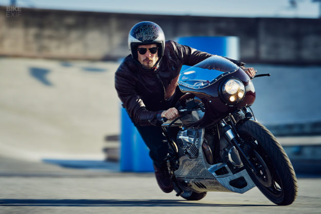 Moto Guzzi Le Mans, built for Vanguard Clothing by Wrench Kings