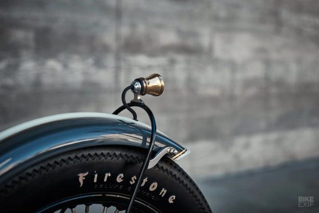 A BSA Thunderbolt bobber by Tesla clay sculptor Richard Mitchell