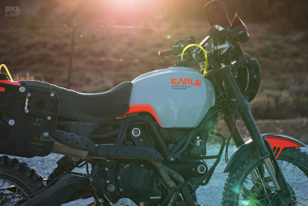 Ducati dirt bike: The Earle Motors Alaskan Desert Sled
