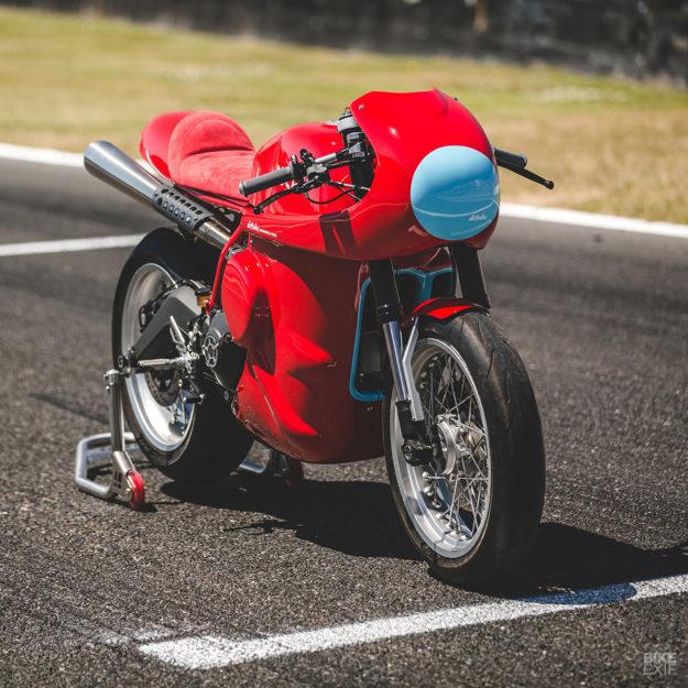 Red Hot: A custom Ducati Scrambler from deBolex Engineering