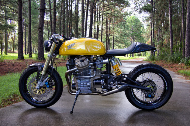 Garth Allison's Honda CX500