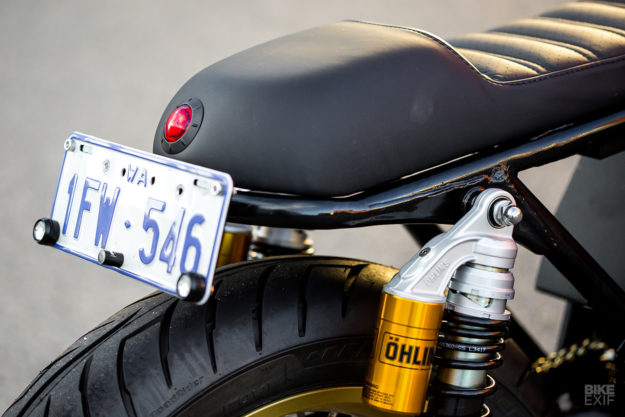 Honda CB750 cafe racer from Rogue Motorcycle of Australia