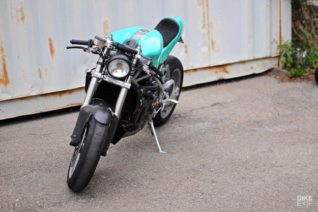 Can-Am Cafe Racer: A custom 2008 Ducati 848 with dual nationality