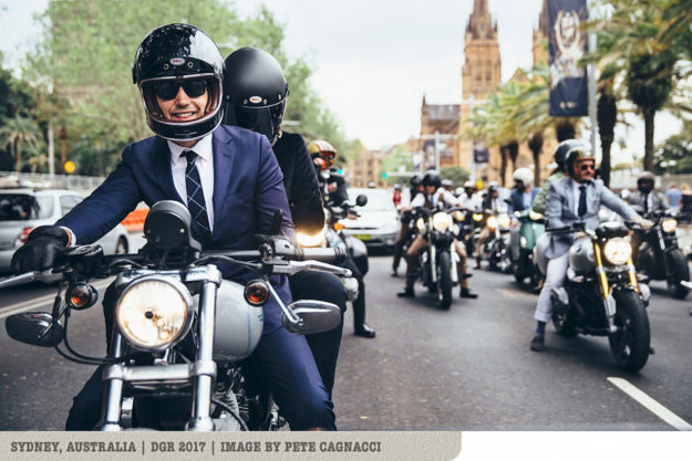 The 2018 Distinguished Gentlemans Ride: Sydney, Australia