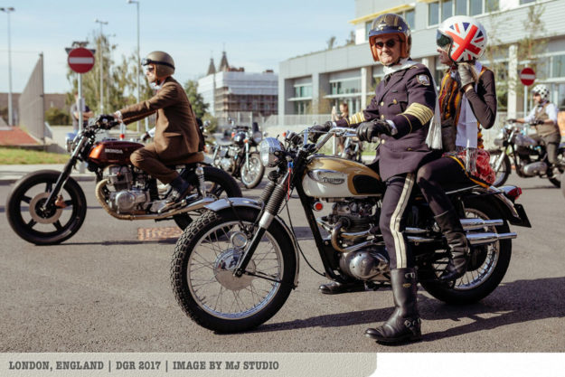 The 2018 Distinguished Gentlemans Ride: London, England