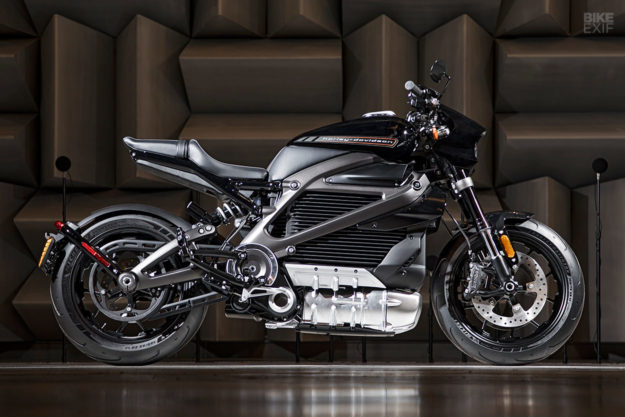 2019 Harley LiveWire electric motorcycle
