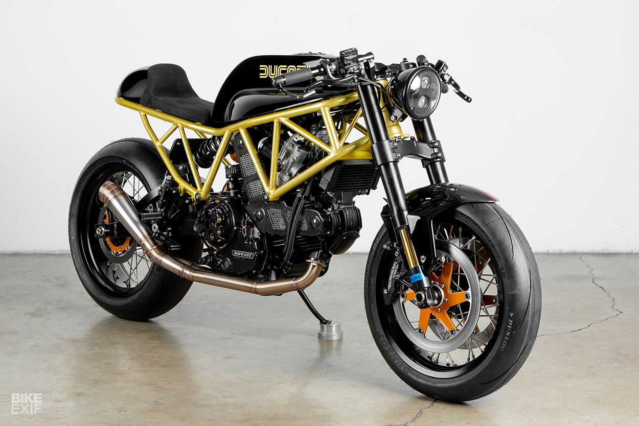 Black Magic: A Ducati 900SS cafe racer from Lossa Engineering