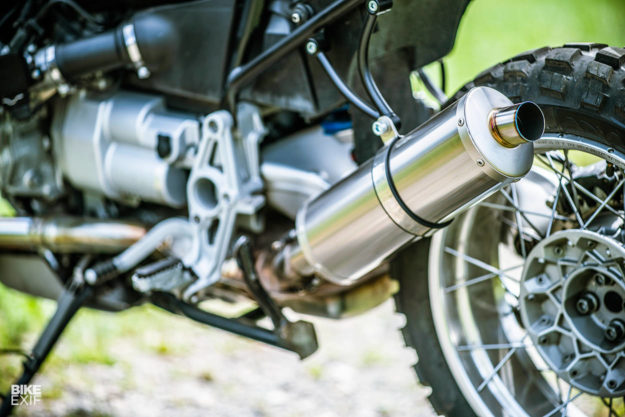 A customized BMW R1150GS from 46works of Japan