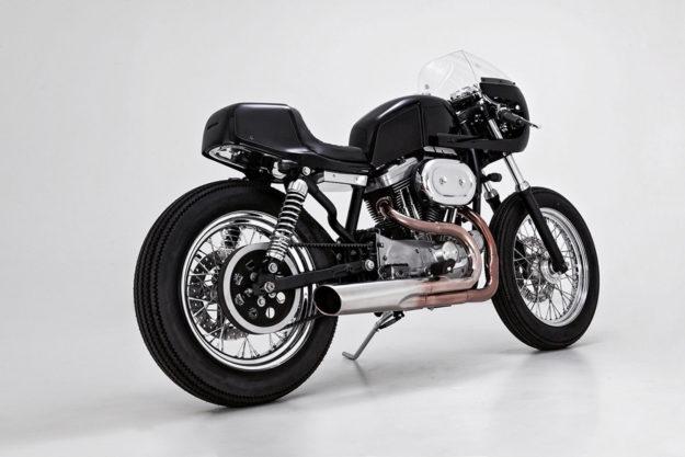 Harley Sportster cafe racer by Tetsu Mitsuhashi