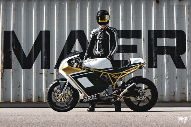 Ducati SuperSport 1000DS built for track days