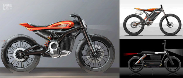 Harley electric motorcycle concepts