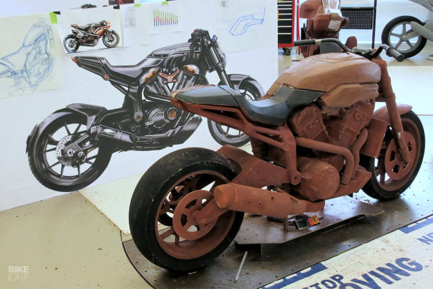 Harley-Davidson-Streetfighter prototype