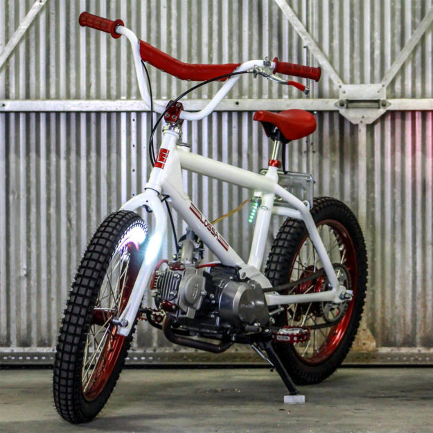 Honda-powered Redline BMX bike
