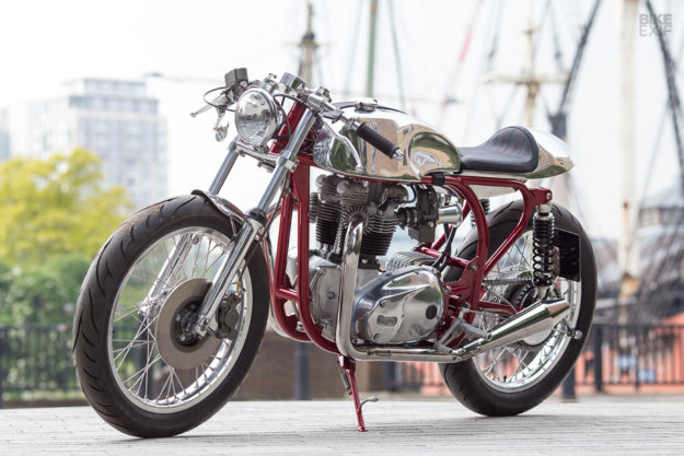 Triton cafe racer by Foundry Motorcycles